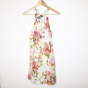 Indulge strappy floral dress